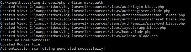 login laravel 5.2